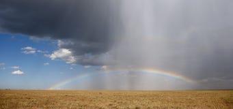 国家公园彩虹serengeti 免版税库存图片