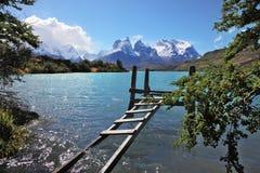 国家公园托里斯del潘恩在智利 免版税库存图片