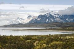 国家公园托里斯del潘恩,智利巴塔哥尼亚 免版税库存图片