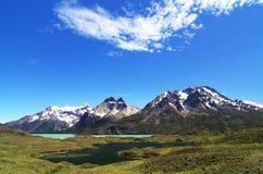 国家公园托里斯del潘恩 库存图片