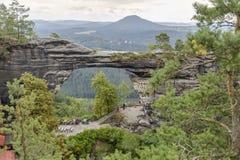 国家公园捷克人瑞士 免版税库存图片