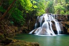 国家公园瀑布 库存图片