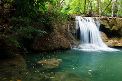国家公园瀑布 免版税库存照片