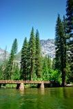 国家公园美国优胜美地 库存图片