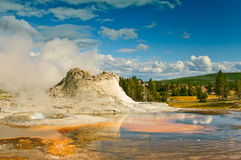 国家公园黄石 图库摄影