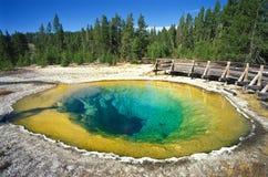 国家公园黄石 库存图片