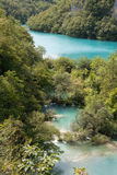 国家公园: Plitvice湖 免版税图库摄影