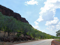国家公园维多利亚河。澳大利亚。 免版税库存照片