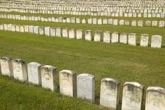 国家公园Andersonville或阵营Sumter,一个全国古迹在乔治亚,同盟者南北战争监狱和公墓站点  库存照片