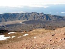 国家公园El Teide 免版税图库摄影