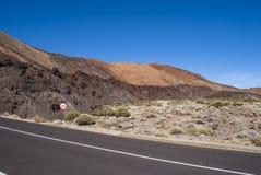 国家公园El Teide 库存照片