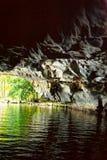 国家公园Ninh Binh 湖 越南 14-12-2013 图库摄影