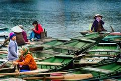 国家公园Ninh Binh 越南 14-12-2013 免版税库存图片