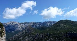 国家公园Paklenica 库存图片