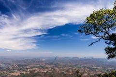 国家公园phukradung点视图 免版税库存图片