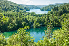 国家公园Plitvica湖 免版税库存照片