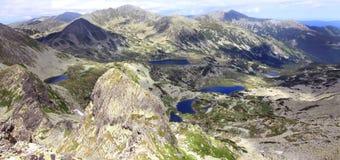 国家公园retezat罗马尼亚 免版税库存图片