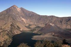 国家公园rinjani 免版税库存图片
