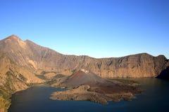 国家公园rinjani 免版税库存照片