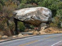 国家公园s美国加州红杉u 免版税库存图片