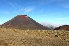 国家公园tongariro 免版税库存图片