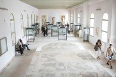 国家博物馆内部在迦太基 免版税库存照片