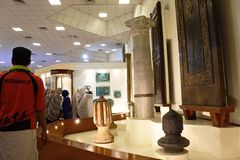 国家博物馆和公园阿拉伯伊斯兰教 库存照片