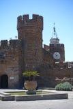 国家博物馆和尖沙咀钟楼在切尔韦泰里 库存照片