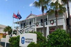 国家博物馆在乔治市,开曼群岛 库存图片