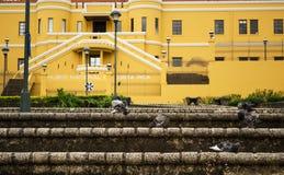 国家博物馆在圣何塞-哥斯达黎加 库存照片
