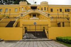 国家博物馆在圣何塞-哥斯达黎加 免版税库存照片