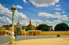 国家博物馆在金边-柬埔寨 免版税库存图片