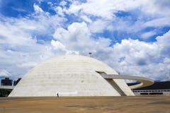 国家博物馆在巴西利亚,巴西的首都 免版税库存图片