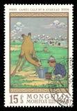 国家博物馆年轻人骆驼 图库摄影