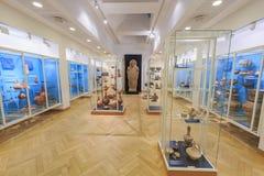 国家博物馆的内部看法 库存照片