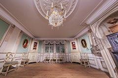 国家博物馆的内部看法 免版税库存图片