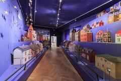 国家博物馆的内部看法 库存图片