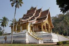 国家博物馆,琅勃拉邦,老挝 库存照片