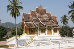 国家博物馆,琅勃拉邦,老挝 图库摄影