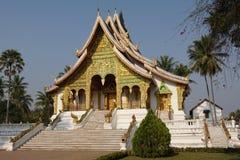 国家博物馆,琅勃拉邦,老挝 免版税库存照片