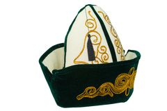 国家卡扎克斯坦盖帽2 免版税库存图片