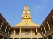 国家历史博物馆在圣地亚哥de智利 免版税图库摄影