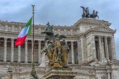 国家历史文物大厦在罗马 免版税图库摄影