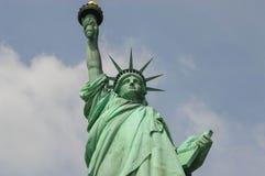 国家历史文物自由女神像 免版税图库摄影
