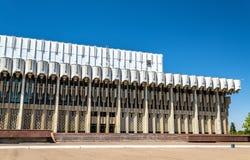 国家宫殿友谊在塔什干,乌兹别克斯坦 图库摄影