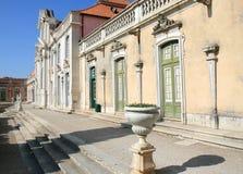 国家宫殿葡萄牙queluz 免版税库存图片