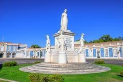 国家宫殿queluz 库存照片