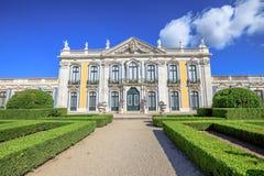 国家宫殿queluz 免版税库存照片