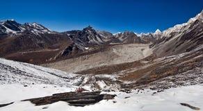 国家尼泊尔公园sagarmatha 库存照片