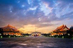 国家戏院和音乐堂在台北 免版税库存照片